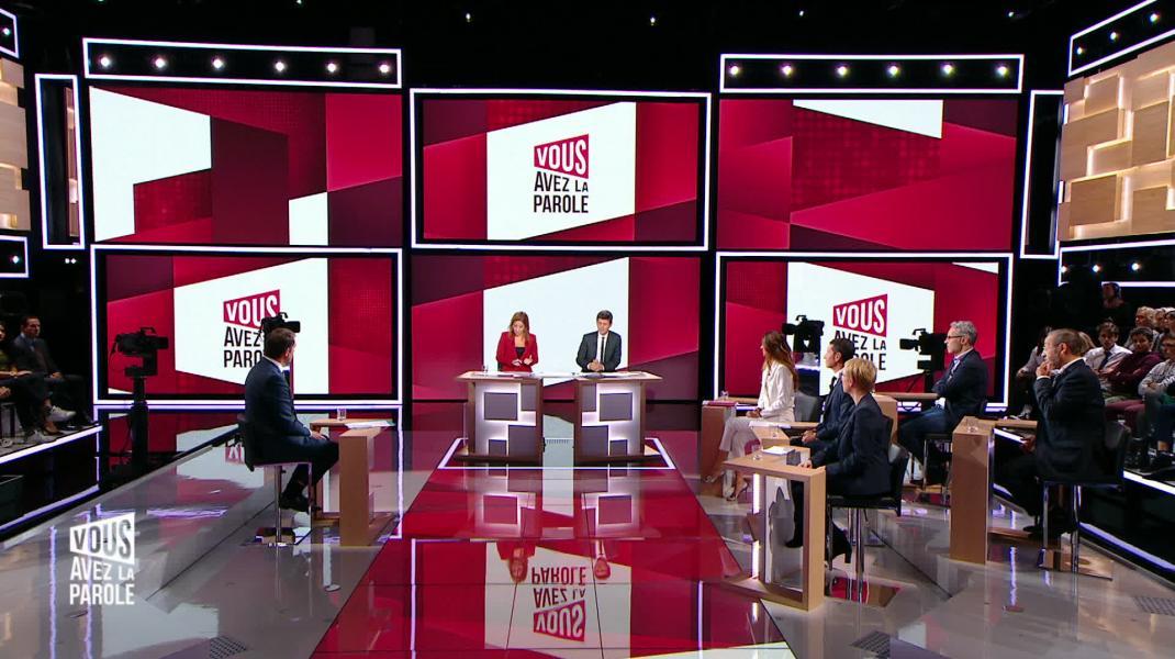 Vous Avez La Parole Christophe Castaner Tv5monde Europe